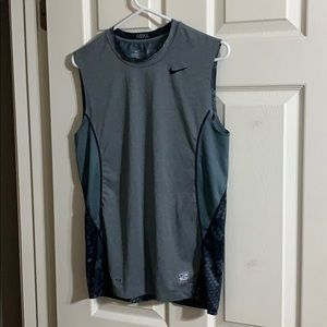 Nike pro combat fitted tank top